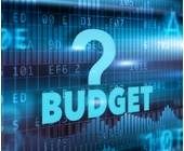 Schriftzug-Budget-auf-Matrix