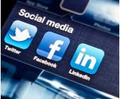 Apps von Twitter, Facebook und LinkedIn
