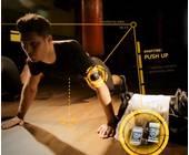Der Fitness-Tracker Gymwatch Sensor im Einsatz bei Push-Ups