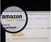 Amazon Interface durch Lupe
