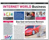 Cover der Ausgabe 10/2015 der INTERNET WORLD Business