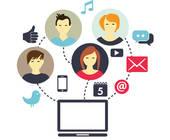die Vernetzung in sozialen Netzwerken