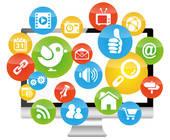 Social-Media-Symbole