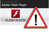 Vorsicht vor dem Flash Player