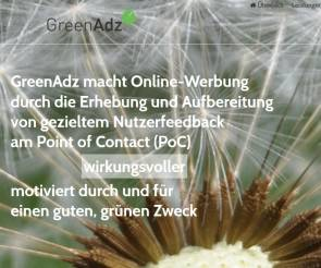Website von GreenAdz