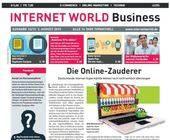 Das Cover der 16. Ausgabe der INTERNET WORLD Business