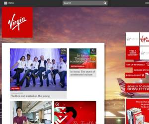 Website von Virgin
