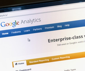 Website von Google Analytics