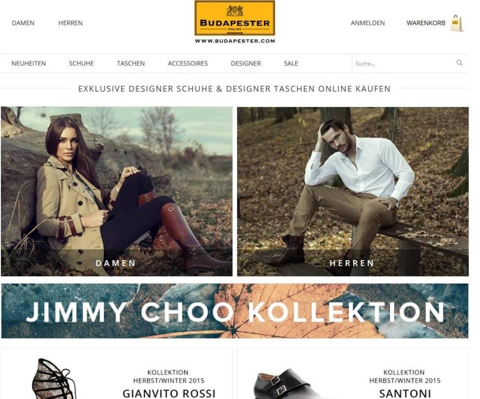 big sale c313e fb390 Schuh-Händler Budapester: Der Weg zum ersten Online-Shop ...