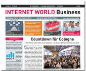 Das Cover der Ausgabe 18 der INTERNET WORLD Business