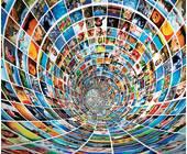 Tunnel aus Bildern
