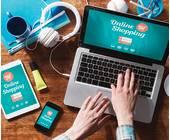 Online-Shopping mit verschiedenen Devices