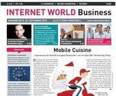 Das Cover der 20. Ausgabe der INTERNET WORLD Business im Jahr 2015