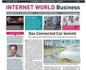 Das Cover der aktuellen Ausgabe der Fachzeitschrift INTERNET WORLD Business