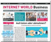Das Cover der 22. Ausgabe 2015 der INTERNET WORLD Business