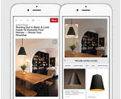 Handy mit Pinterest