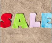 Sale Buchstaben