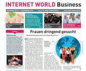 Das Cover der 25. Ausgabe der INTERNET WORLD Business