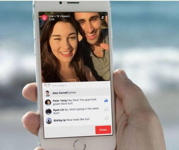 Facebook testet in den USA ein neues Livestream-Feature