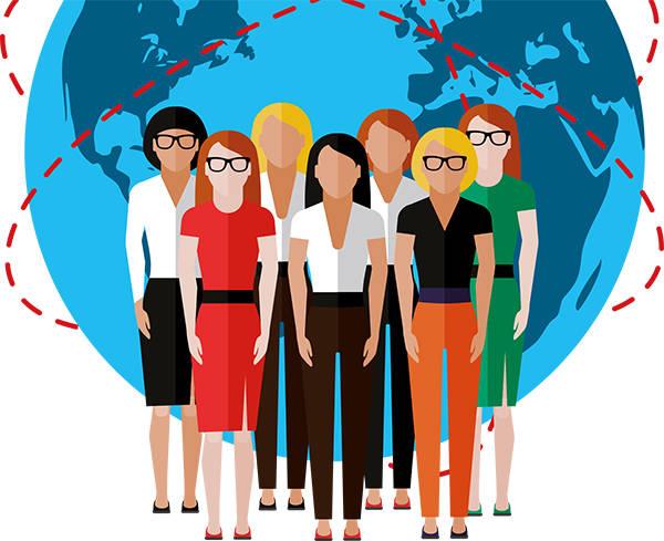 Das weibliche Geschlecht und die Digital-Branche
