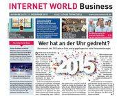 Cover der 26. Ausgabe der INTERNET WORLD Business