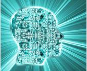 Kopf mit Daten