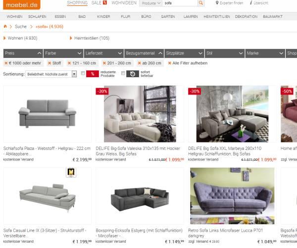 online m belhandel die n chste revolution. Black Bedroom Furniture Sets. Home Design Ideas