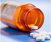 Ausgeschüttete Pillen