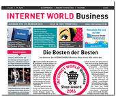 Cover der Ausgabe 5 der INTERNET WORLD Business