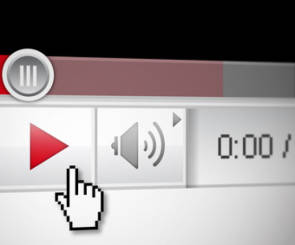 Videoplayer von YouTube