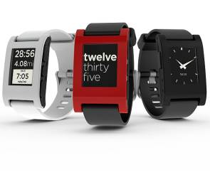 3 Pebble Smartwatches