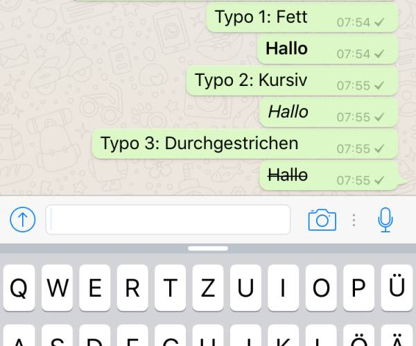 Know How Und Know Why Whatsapp Formatiert Sich Internetworldde
