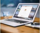 Brave-Browser auf Notebook