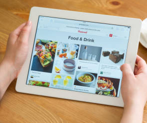 tablet mit pinterest
