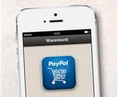 Paypal-App auf dem Handy