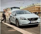 Volvo-Kofferraum-Lieferung