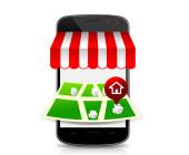 Kisok im Smartphone Anzeige Laden