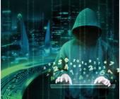 Hacker mit Kapuze