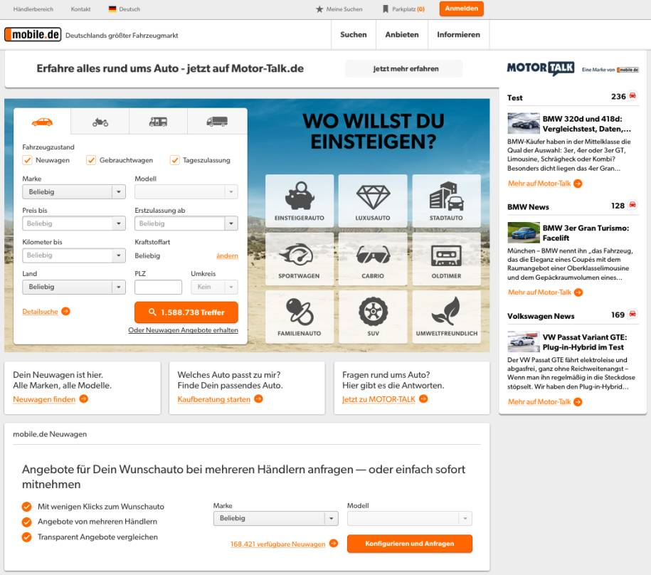 Mobilede Die Automobil Branche Muss Agiler Werden Internetworldde