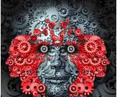 Maschinen-Gesicht