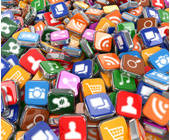 Viele bunte Apps