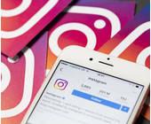 Instagram auf einem iPhone