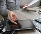 Arbeiten am Tablet