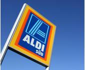 Schild von Aldi Süd