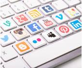 Tastatur Icons Social Networks