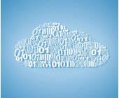 Wolke mit Zahlen
