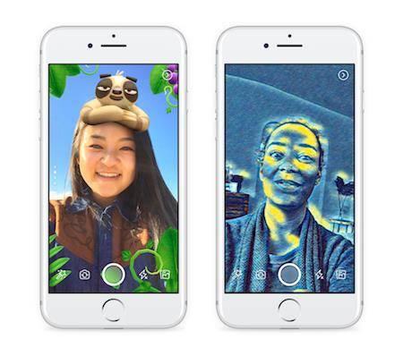Facebook bringt auch in Haupt-App die Kamera in den Fokus