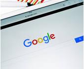 Google auf dem Tablet