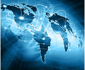 Vernetzung global