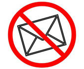 E-Mail-Verbot